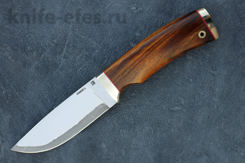 Knife Hunter of laminated steel (vanadis 8) ATTENTION! In the manufacture of the handle of this model can be used various materials. To discuss all of the details you need to contact the Manager. Or,when ordering, specify in comments.